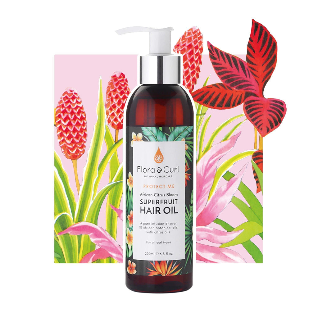 Flora & Curl | African Citrus Bloom Superfruit Hair Oil