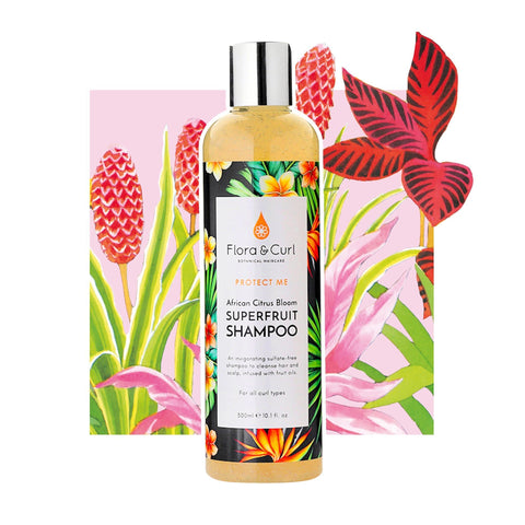 Flora & Curl | African Citrus Bloom Superfruit Shampoo