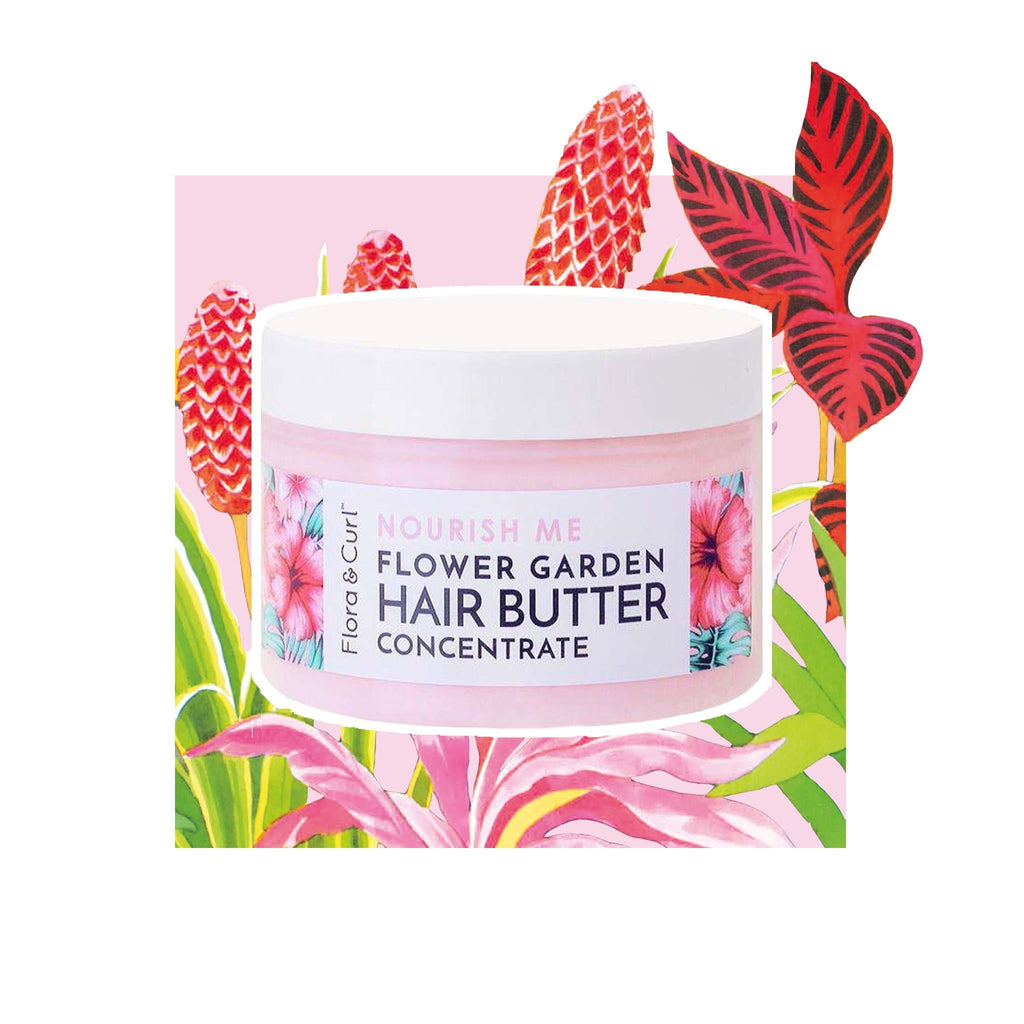 Flora & Curl | Flower Garden Hair Butter Concentrate Large