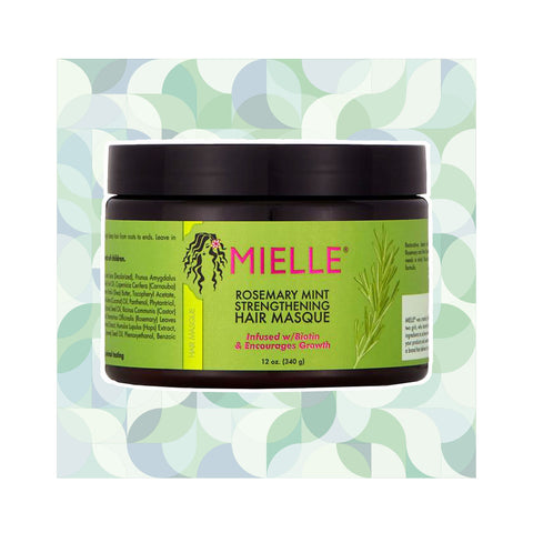 Mielle Organics | Rosemary Mint Strengthening Hair Masque
