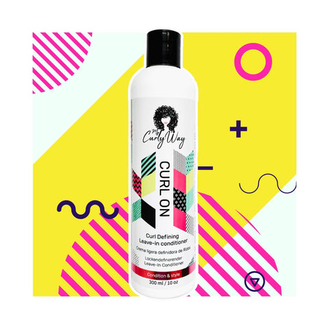MY Curly Way | Curl On Curl Defining Leave-in Conditioner