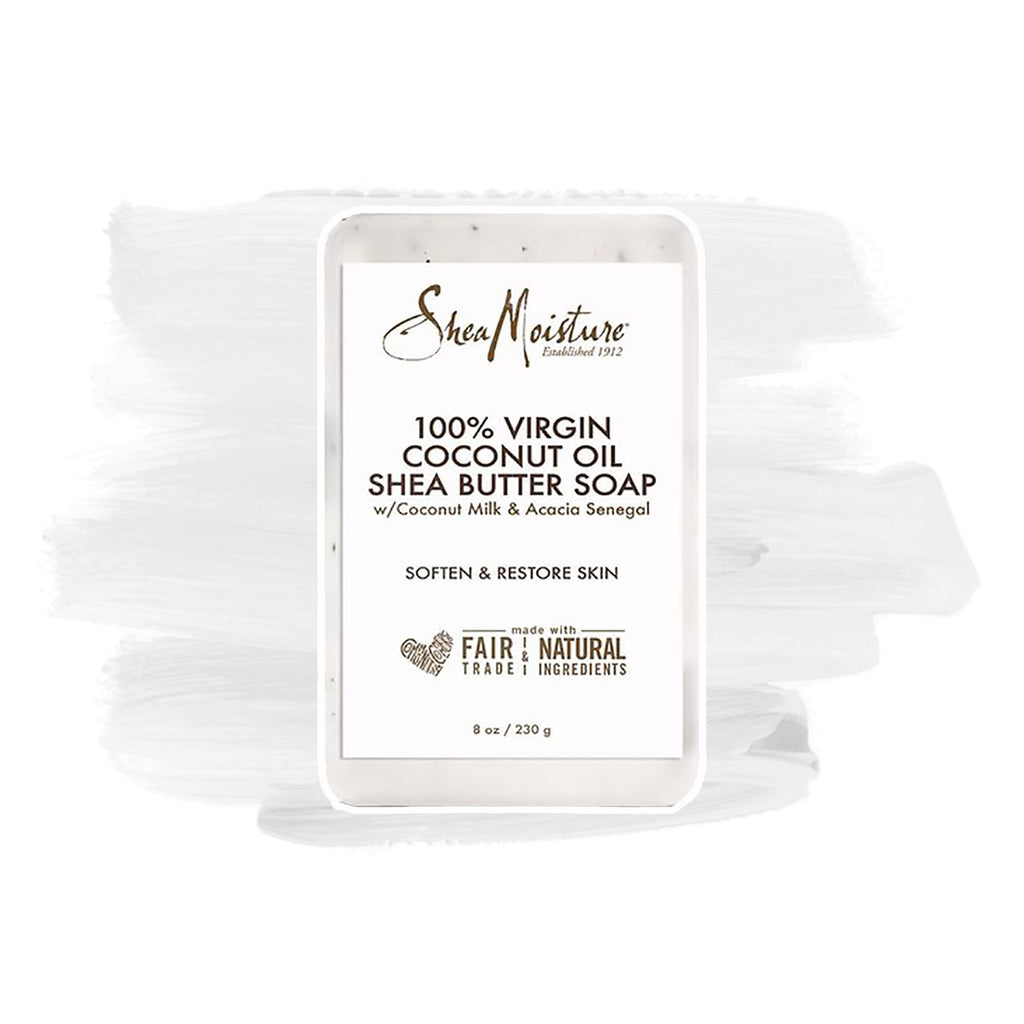 Shea Moisture | 100% Virgin Coconut Oil Shea Butter Soap Bar