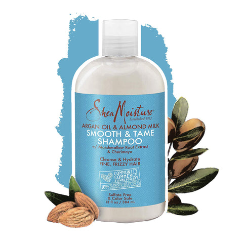 Shea Moisture | Argan Oil & Almond Milk Smooth & Tame Shampoo