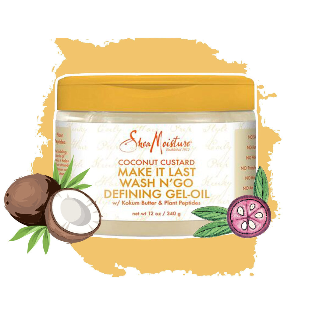 Shea Moisture | Coconut Custard Make it Last Wash N` Go Defining Gel-Oil