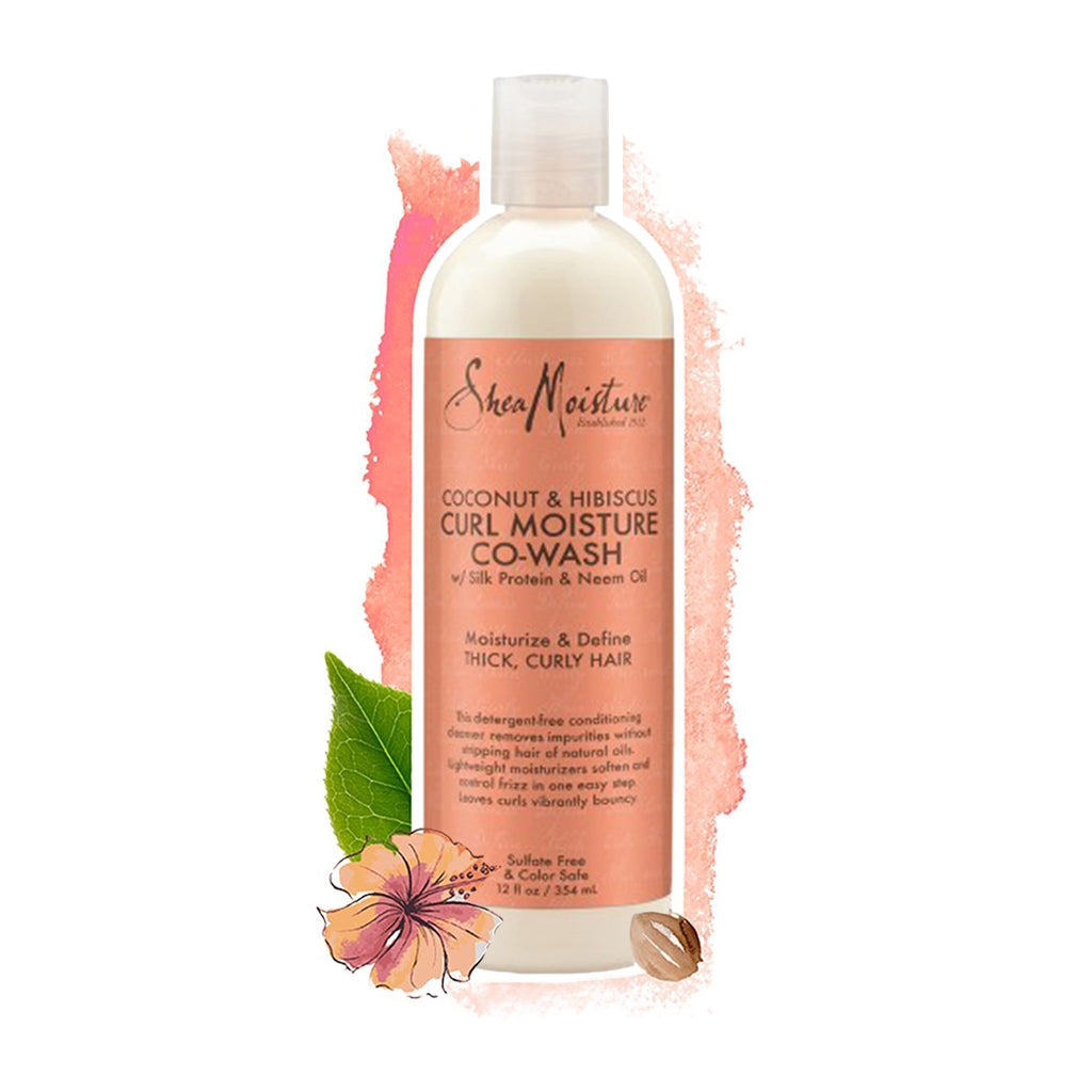 Shea Moisture | Coconut & Hibiscus Co-Wash Conditioning Cleanser (Gross)
