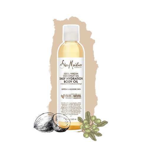 Shea Moisture | Daily Hydration Body Oil Virgin Coconut