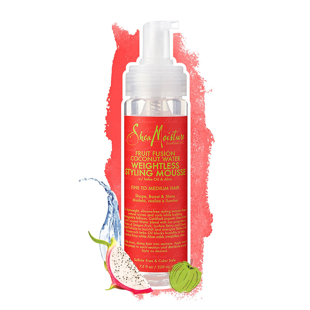 Shea Moisture | Fruit Fusion Coconut Water Weightless Styling Mousse