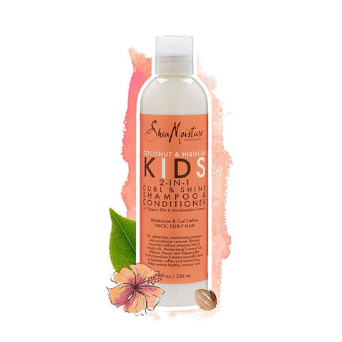 Shea Moisture KIDS| 2In1 Shampoo & Conditioner Coconut & Hibiscus