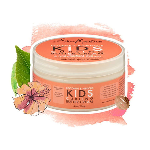 Shea Moisture KIDS | Coconut & Hibiscus Curling Butter Cream