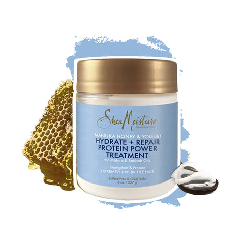 Shea Moisture | Manuka Honey & Yoghurt Hydrate + Repair Protein Power Treatment