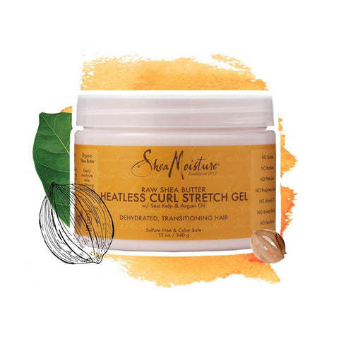 Shea Moisture | Raw Shea Butter Heatless Curl Stretch Gel