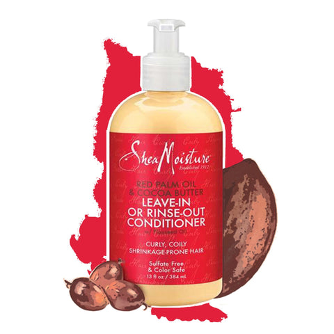 Shea Moisture | RED PALM OIL & COCOA BUTTER RINSE OUT OR LEAVE IN CONDITIONER