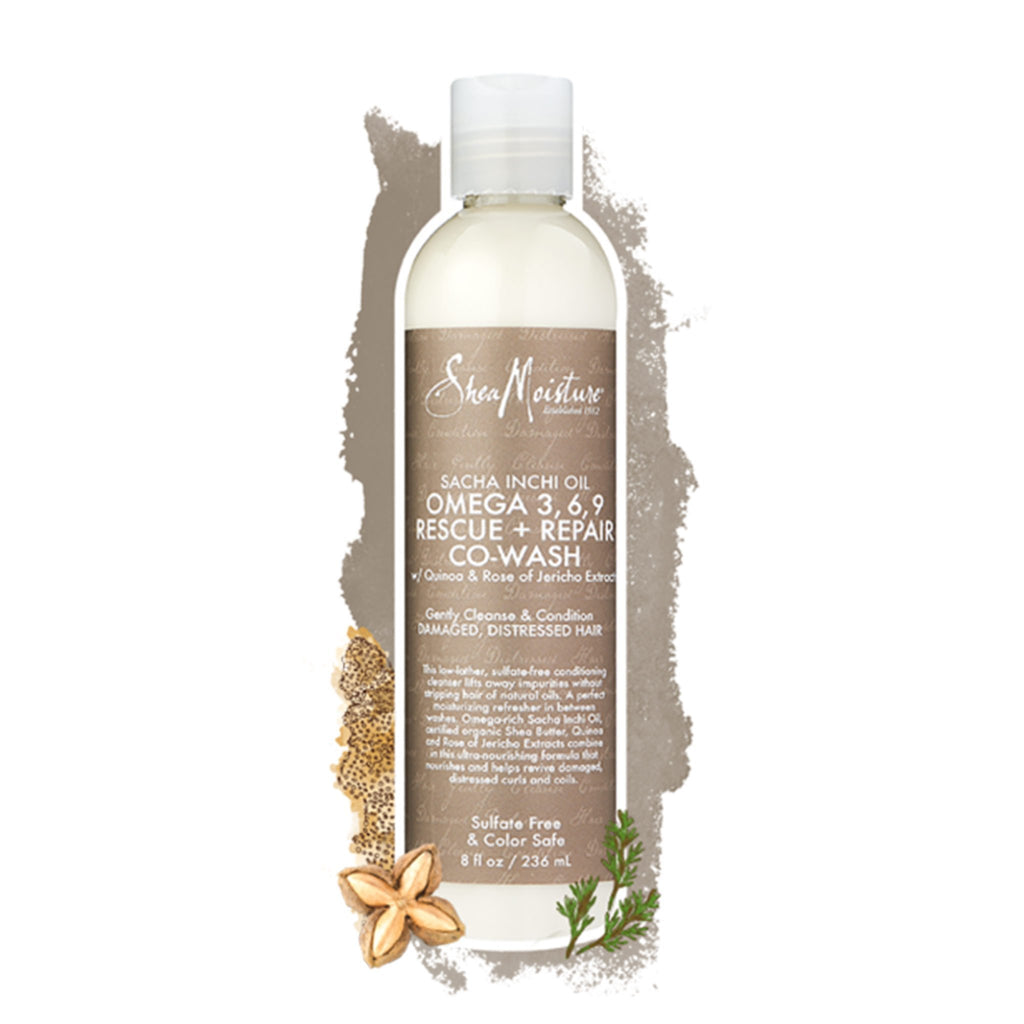 Shea Moisture | Sacha Inchi Oil Omega-3, 6, 9 Rescue + Repair Co-Wash