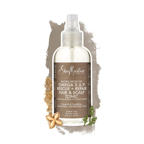 Shea Moisture | Sacha Inchi Oil Omega-3, 6, 9 Rescue + Repair Hair & Scalp Tonic