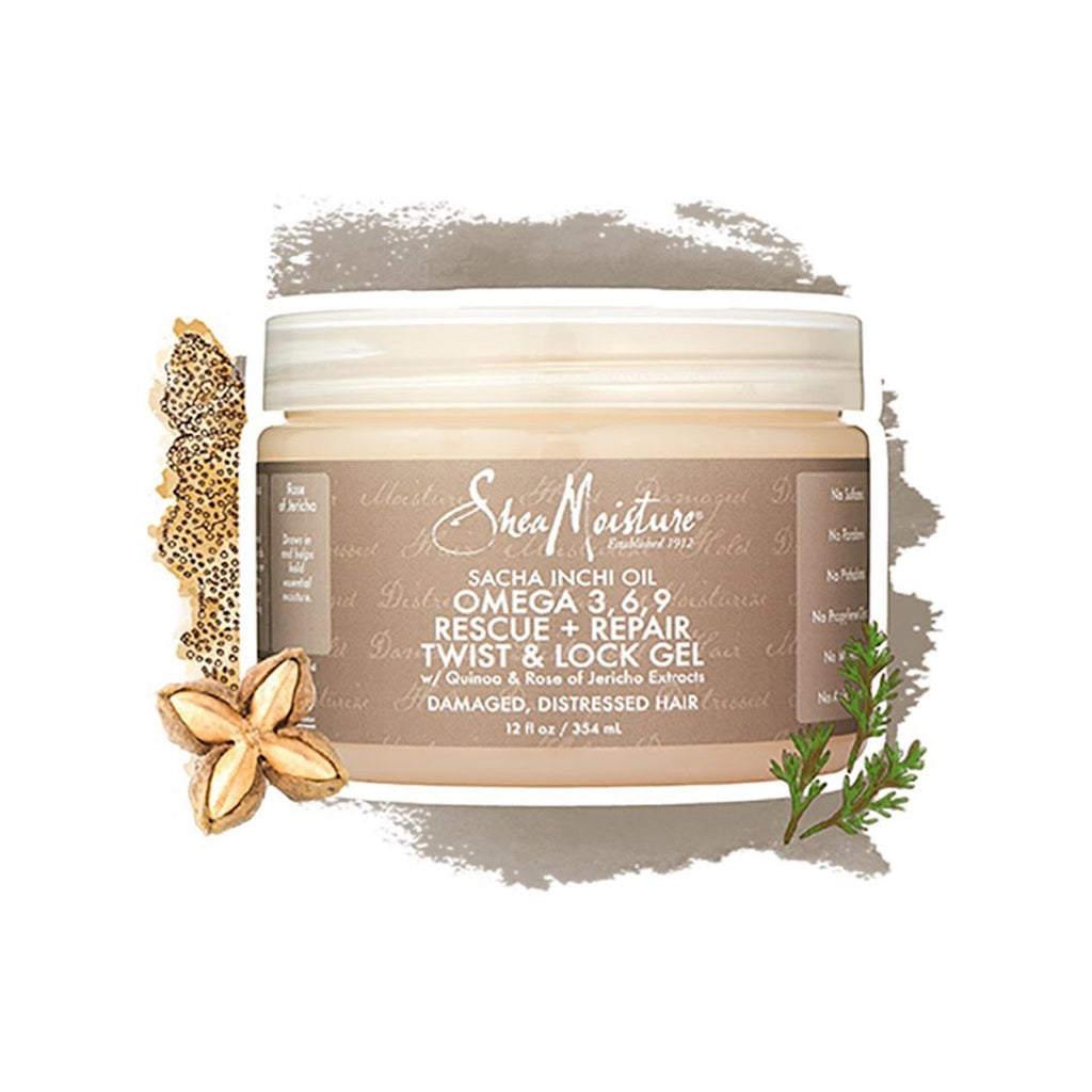 Shea Moisture | Sacha Inchi Oil Omega-3, 6, 9 Rescue + Repair Twist & Loc Gel