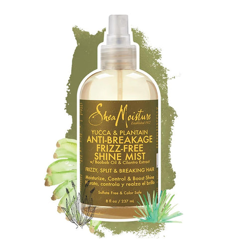 Shea Moisture | Yucca & Plantain Anti-Breakage Frizz-Free Shine Mist