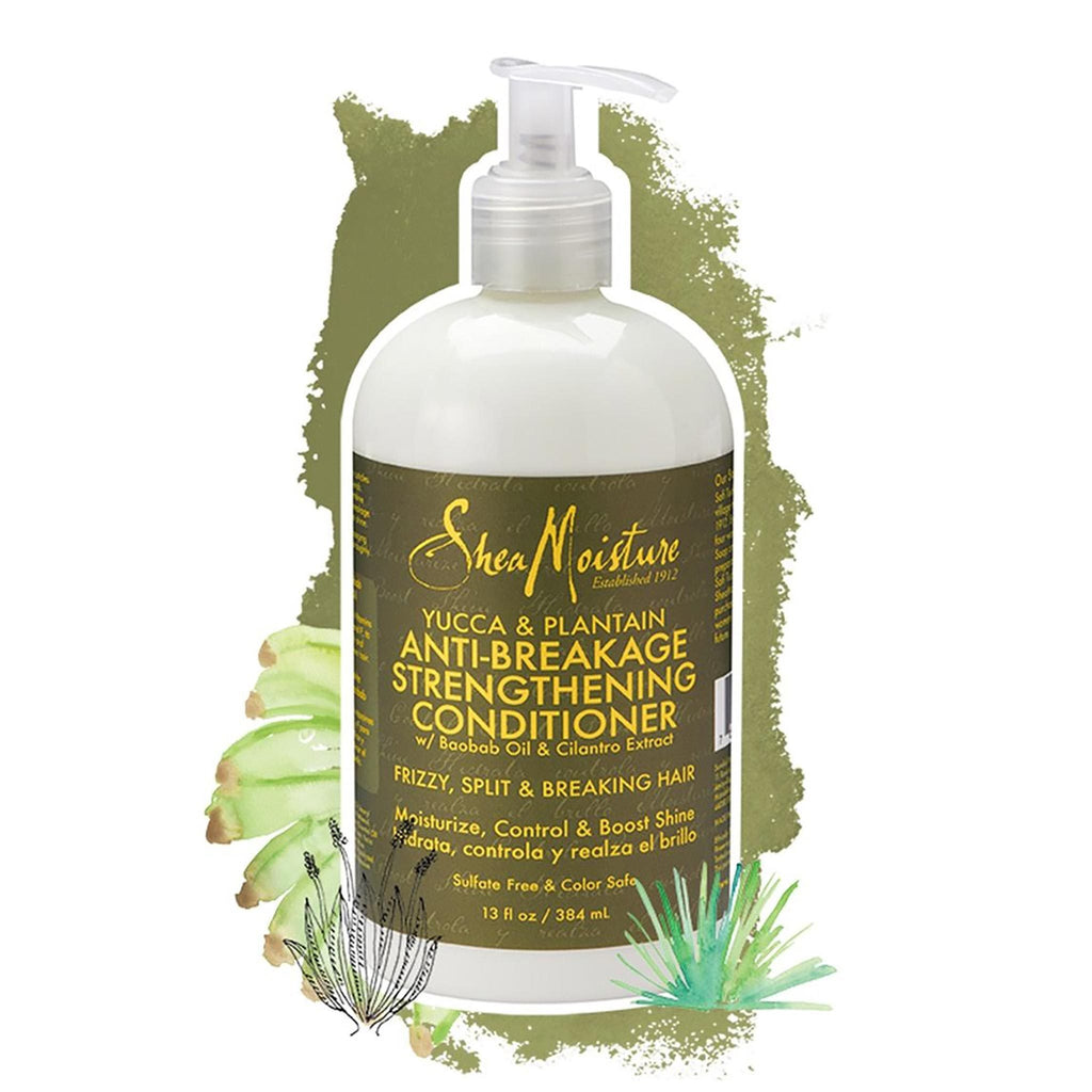 Shea Moisture | Yucca & Plantain Anti-Breakage Strengthening Conditioner