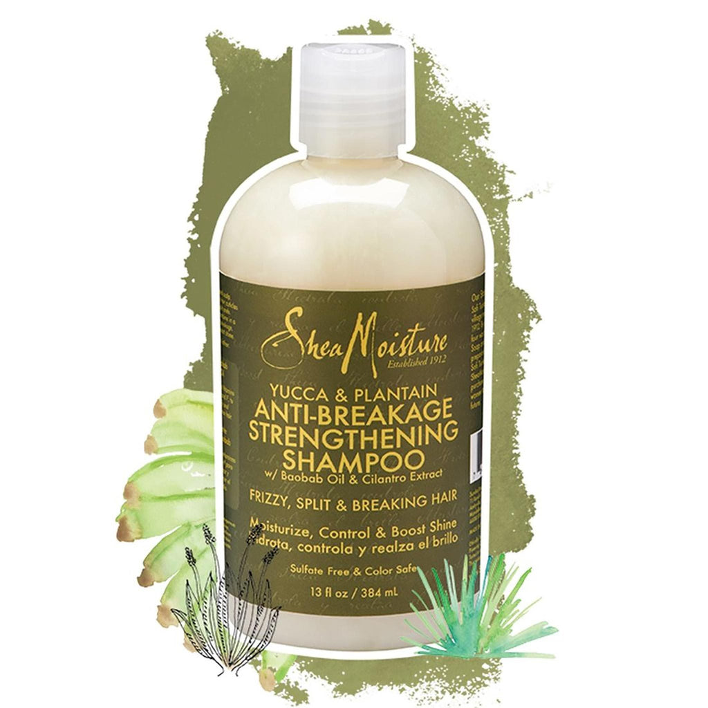 Shea Moisture | Yucca & Plantain Anti-Breakage Strengthening Shampoo