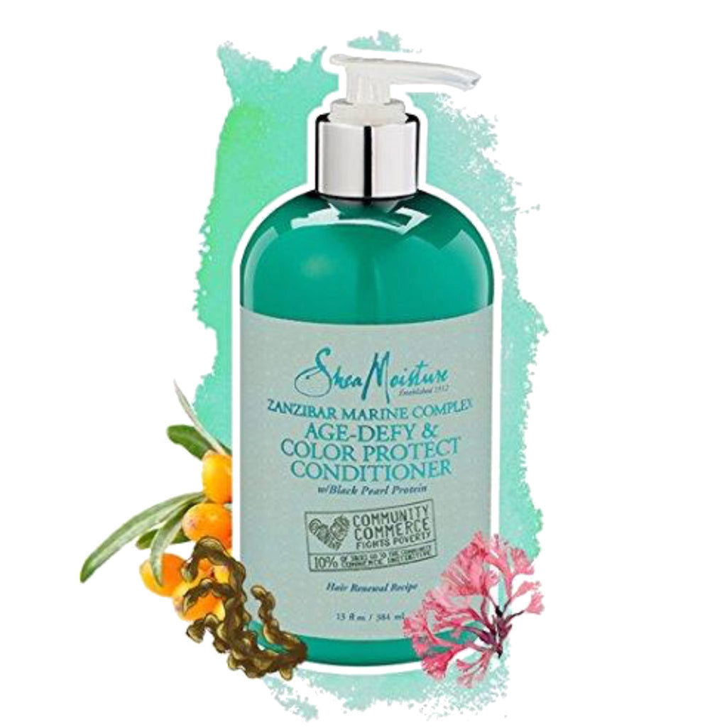 Shea Moisture | Zanzibar Marine Complex Age Defy & Color Protect Conditioner