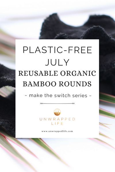 Plastic-free July. Ditch disposable cotton balls and make the switch to reusable organic bamboo facial rounds for a zero-waste and ecofriendly beauty routine.