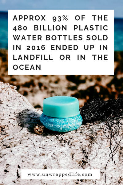 Read Unwrapped Life's blog to learn about how much of a problem plastic water bottles are and why you should go zero-waste in the shower this Plastic-Free July by making the switch to shampoo bars and conditioner bars.
