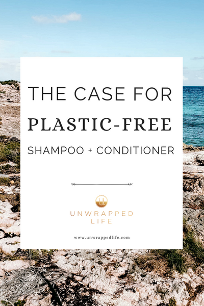This Plastic-Free July, Unwrapped Life makes the case for switching to plastic-free shampoo bars and conditioner bars in this blog post.