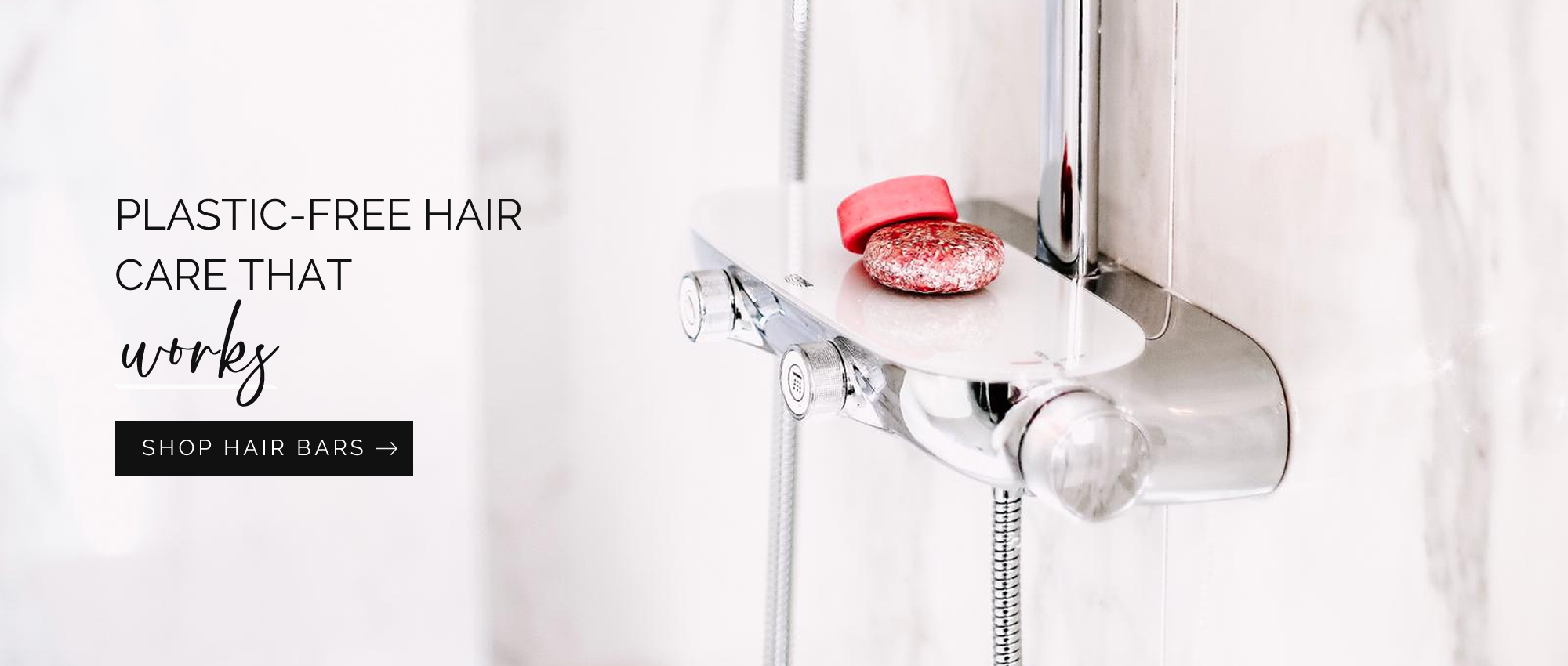 ZERO-WASTE HAIR CARE, SUSTAINABLE PRODUCTS FOR BODY + HOME