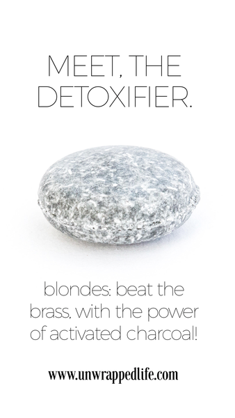 The Detoxifier solid shampoo bar from Unwrapped Life
