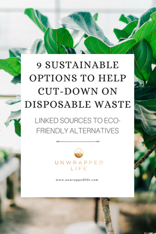 Cut-down on disposable waste
