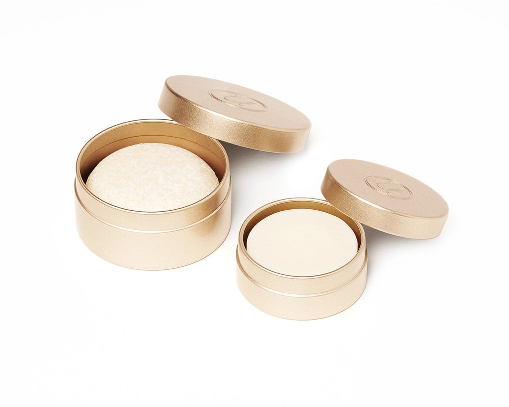 Travel Tins | matte gold