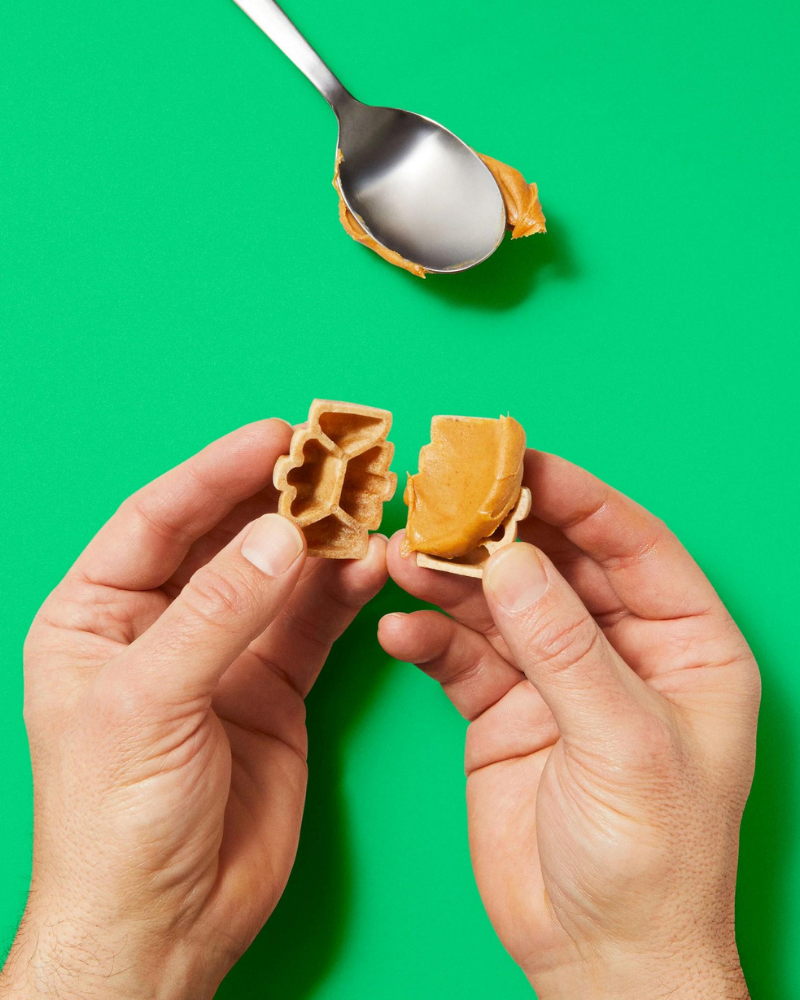 Rowdie & Qwizl Tough Chewer Play (Purple and Granny Smith Green) (Drop-Ship)