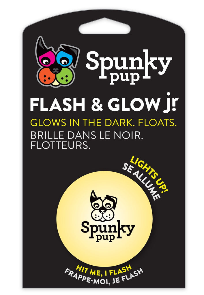 SPUNKY PUP | Flash and Glow Ball Jr.