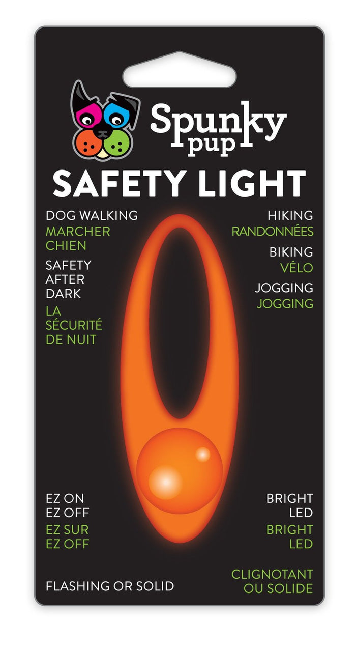 SPUNKY PUP | Flash and Glow Safety Light