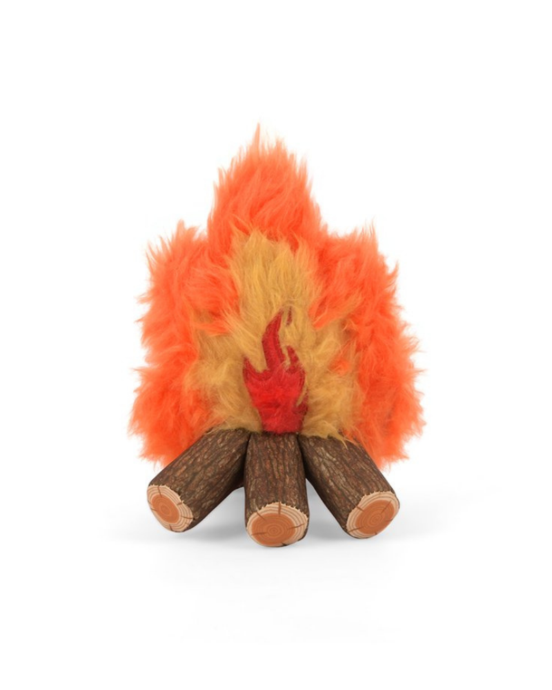 Cozy Campfire Squeaker Dog Toy