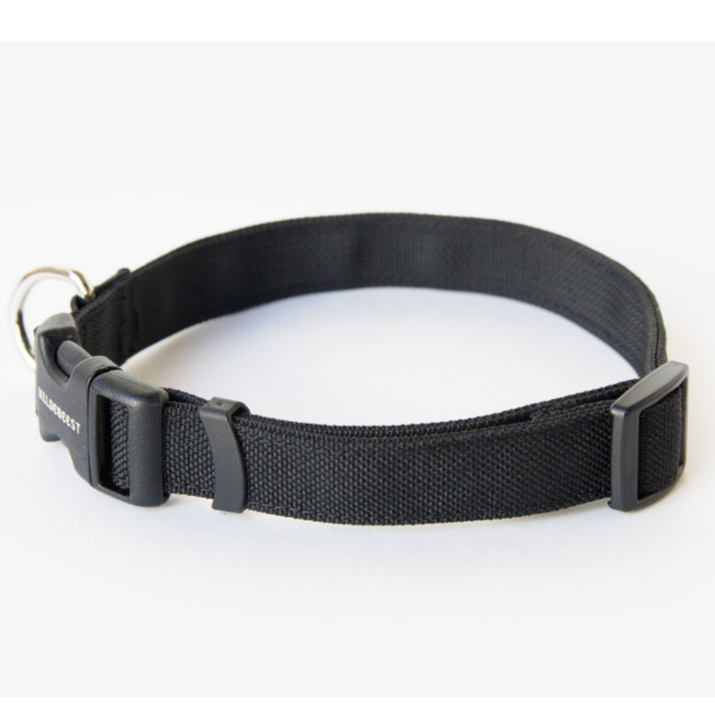 Funston Dog Collar in Black (Made in the USA)