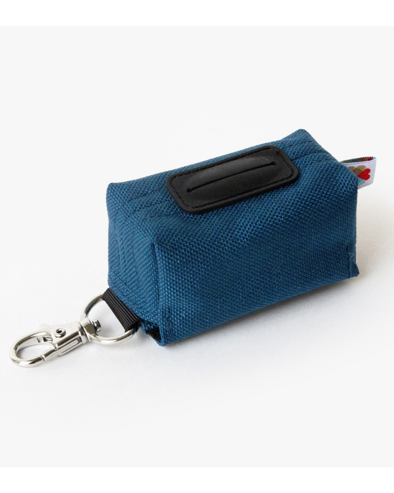 Funston Poo-Bag Dispenser in Navy (Made in the USA)