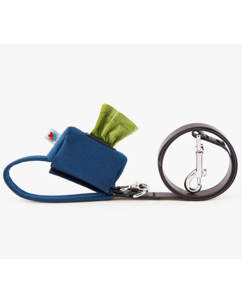 Funston Dog Leash in Navy (Made in the USA)
