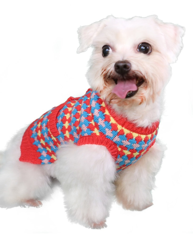 Tangerine Dreams Small Dog Cardigan Sweater