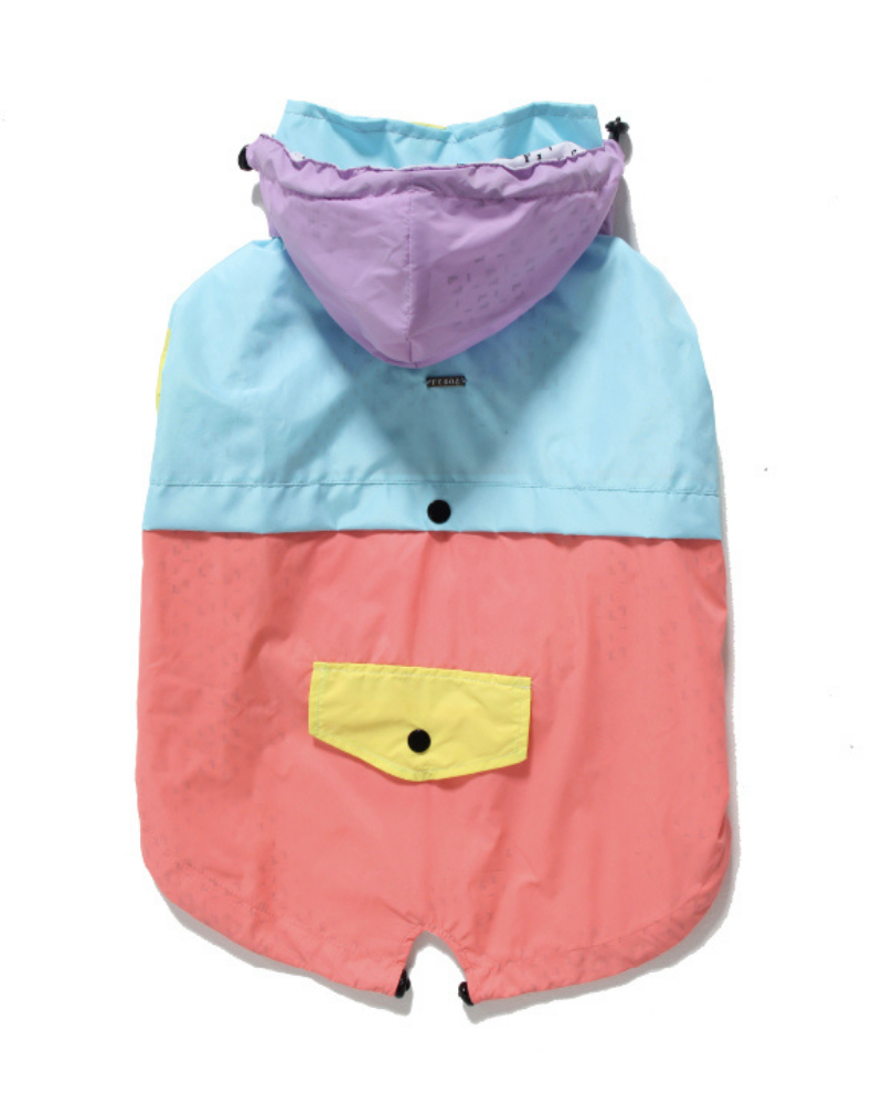 Custom Initial Bandana in Light Denim (Drop-Ship)