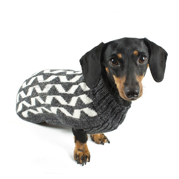 ALQO WASI | Grey Shadow Sweater (BIG DOG SALE)