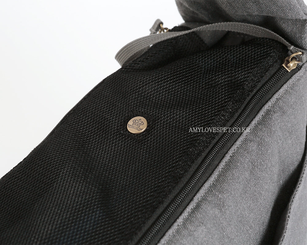 ALP | Haru Sling Bag in Light Grey