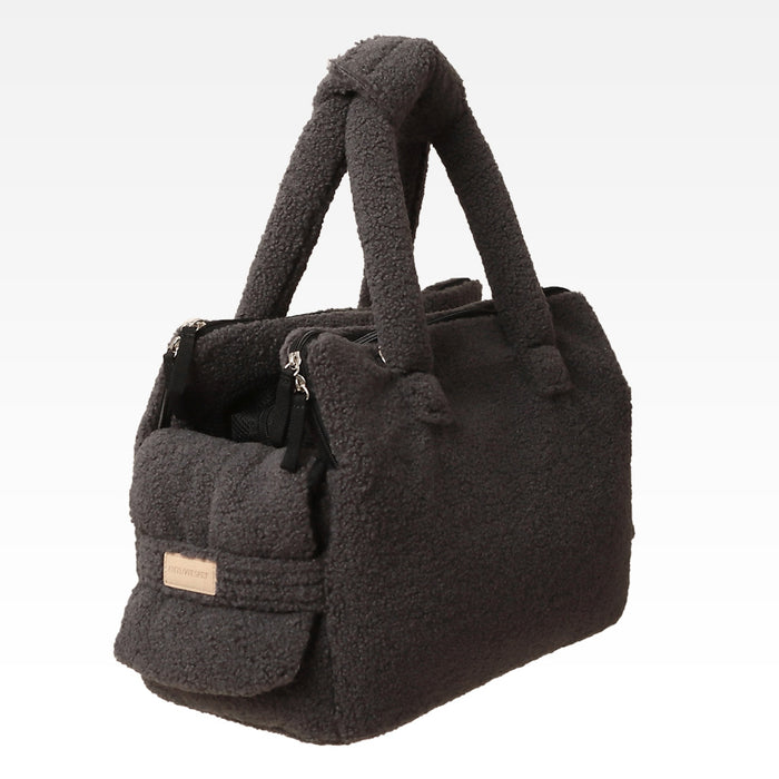 ALP | Rene Padded Shoulder Bag in Dumble Grey
