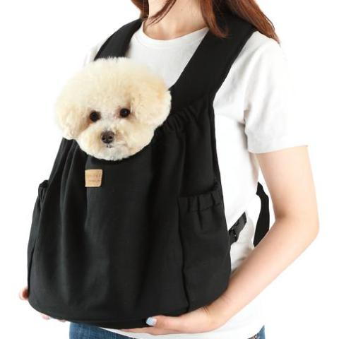ALP | Hug Front Bag in Black