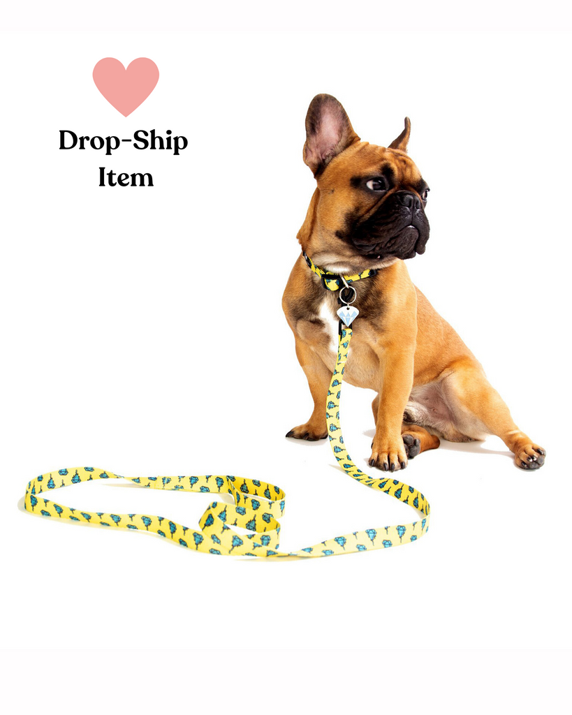 Diamond Drop Collar, Leash & Tag Set (Drop-Ship)(Drop-Ship)