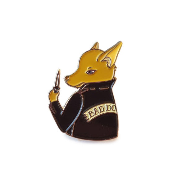 THESE THINGS | Bad Biter Gang Bad BooBoo Chihuahua Enamel Pin