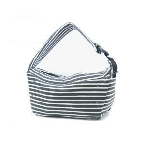 BETTERS | Sling Bag in Grey & White Stripe