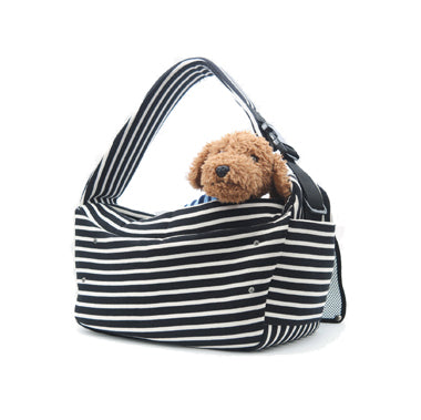 BETTERS | Sling Bag in Black & White Stripe