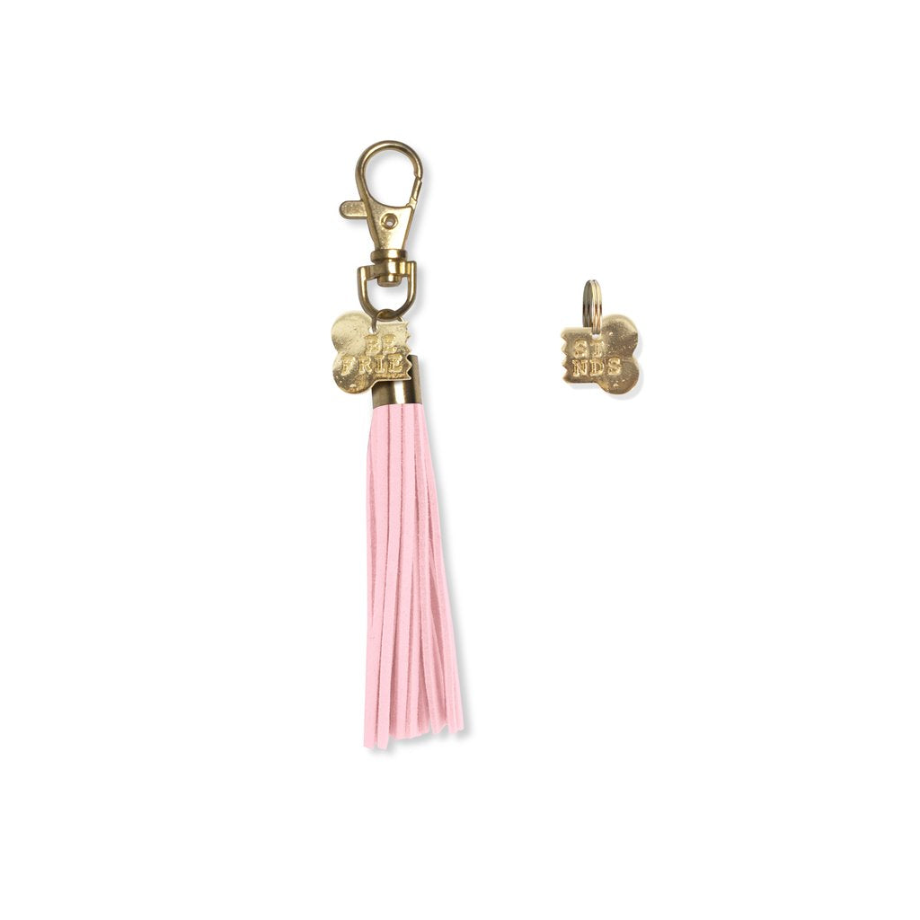 FRINGE STUDIO | Best Friends Bone Tassel Keychain & Collar Charm