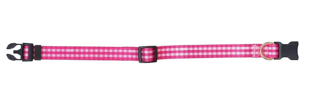 BOULEVARD | Gingham Collar in Pink