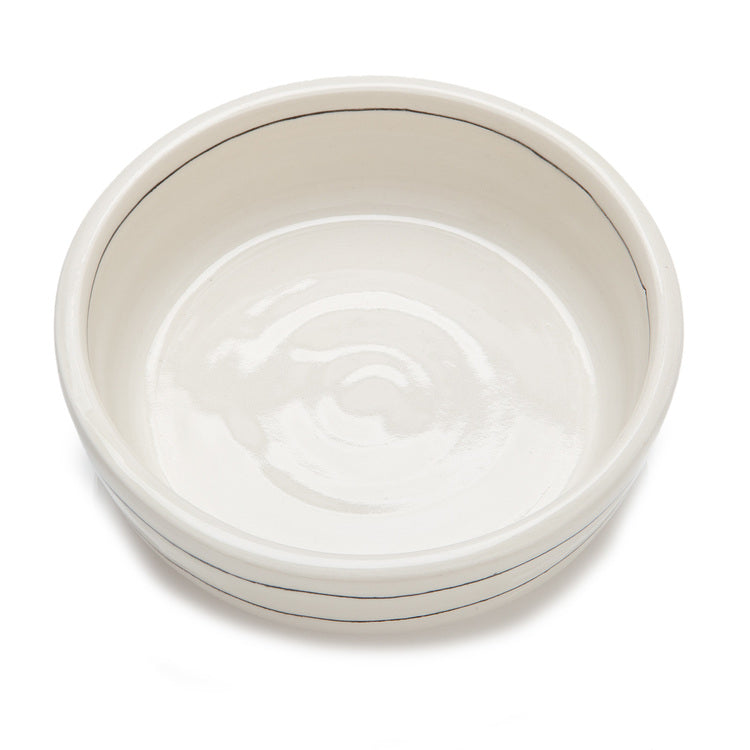Black + White Stripe Bowl (Dog & Co. Exclusive)
